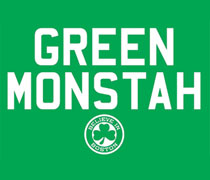 Green Monstah shirt
