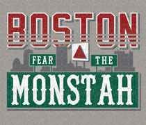 Green Monster Boston shirt