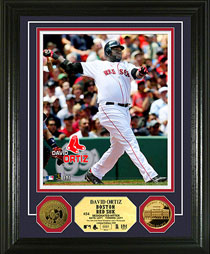 David Ortiz gold coin photomint