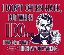 Stay Victorious Hate the Yankees shirt