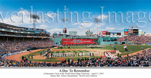 Fenway Park - Ring Ceremony