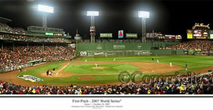 2007 World Series First Pitch at Fenway Park