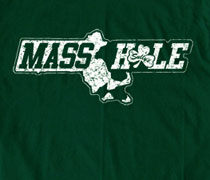 Shamrock Mass Hole shirt