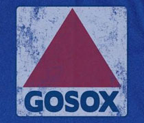 GoSox triangle sign shirt