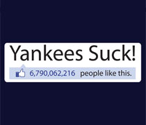 Yankees Suck! status shirt