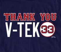 Thank You V-Tek shirt