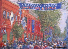 Fine art prints of Yawkey Way